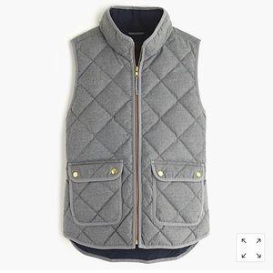 JCrew Down quilted Vest